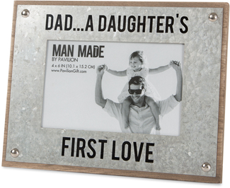"First Love by Man Made - 8.5"" x 6.5"" Frame (Holds 4"" x 6"" Photo)"
