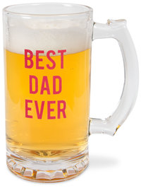 Best Dad by Man Made - 16 oz Beer Stein