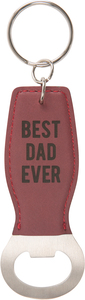 Best Dad by Man Made - Bottle Opener Keyring