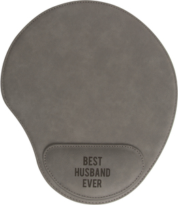 Husband by Man Made - Cushioned Mousepad