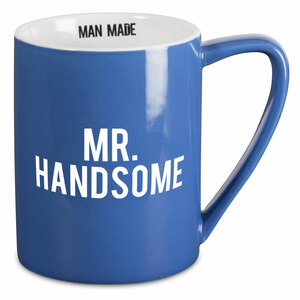 Mr. Handsome by Man Made - 18 oz Mug