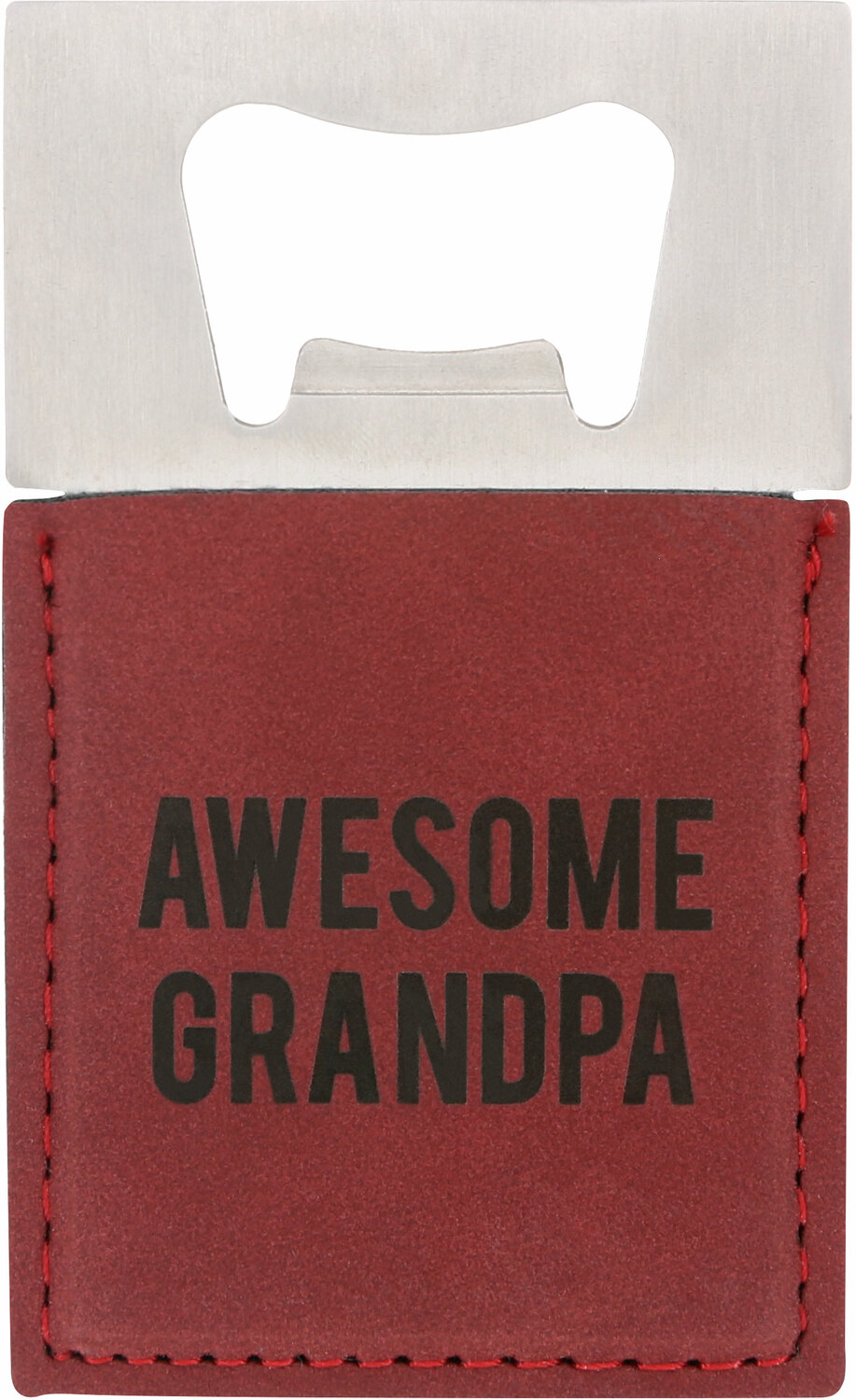 "Awesome Grandpa by Man Made - Awesome Grandpa - 2"" x 3.5"" Bottle Opener Magnet"
