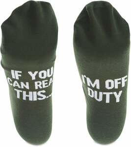 Off Duty by Man Made - Mens Cotton Blend Sock