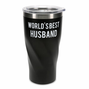 Husband by Man Made - 24 oz Travel Mug