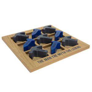 "The Legend by Man Made - 9.75"" MDF Tic-tac-toe Set"