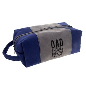 Dad The Legend by Man Made - Canvas Toiletry Bag