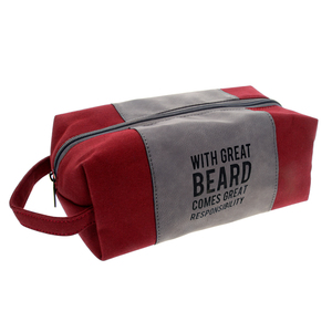 Great Beard by Man Made - Canvas Toiletry Bag