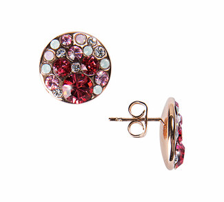 "Liza Romance by H2Z Made with Swarovski Elements - 0.5"" Crystal Stud Earring made from Swarovski Elements"