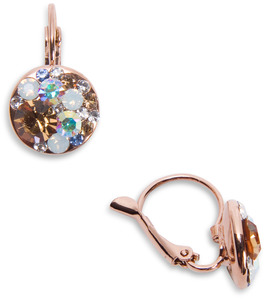 "Liza Starstruck by H2Z Made with Swarovski Elements - 0.5"" Crystal Cluster Dangle Earring made from Swarovski Elements"