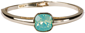 "Isabel Pacific Opal by H2Z Made with Swarovski Elements - 2.125"" Crystal Bangle Bracelet made from Swarovski Elements"