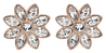 Crystal Flora in Rose Gold by H2Z Made with Swarovski Elements -