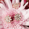 Crystal Flora in Rose Gold by H2Z Made with Swarovski Elements - Scene
