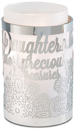 "Daughter by Simply Shining - 3.5""x5.5"" Pierced Met Hur"