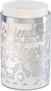 "Friends by Simply Shining - 3.5""x5.5"" Pierced Met Hur"