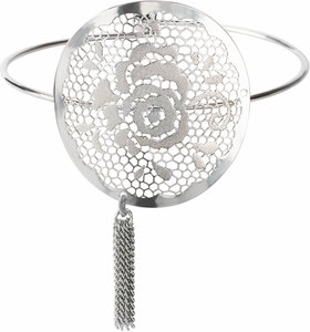 Silver Rose by H2Z Filigree Jewelry - Filigree Bangle Bracelet