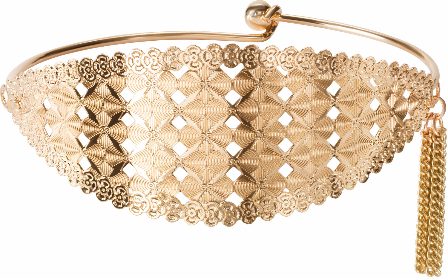 Gold Jazz by H2Z Filigree Jewelry - Gold Jazz - Filigree Bangle Bracelet