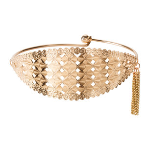 Gold Jazz by H2Z Filigree Jewelry - Filigree Bangle Bracelet