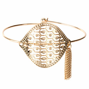 Gold Extravagance by H2Z Filigree Jewelry - Filigree Bangle Bracelet