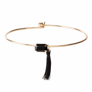 Gold Ebony by H2Z Filigree Jewelry - Bangle Bracelet