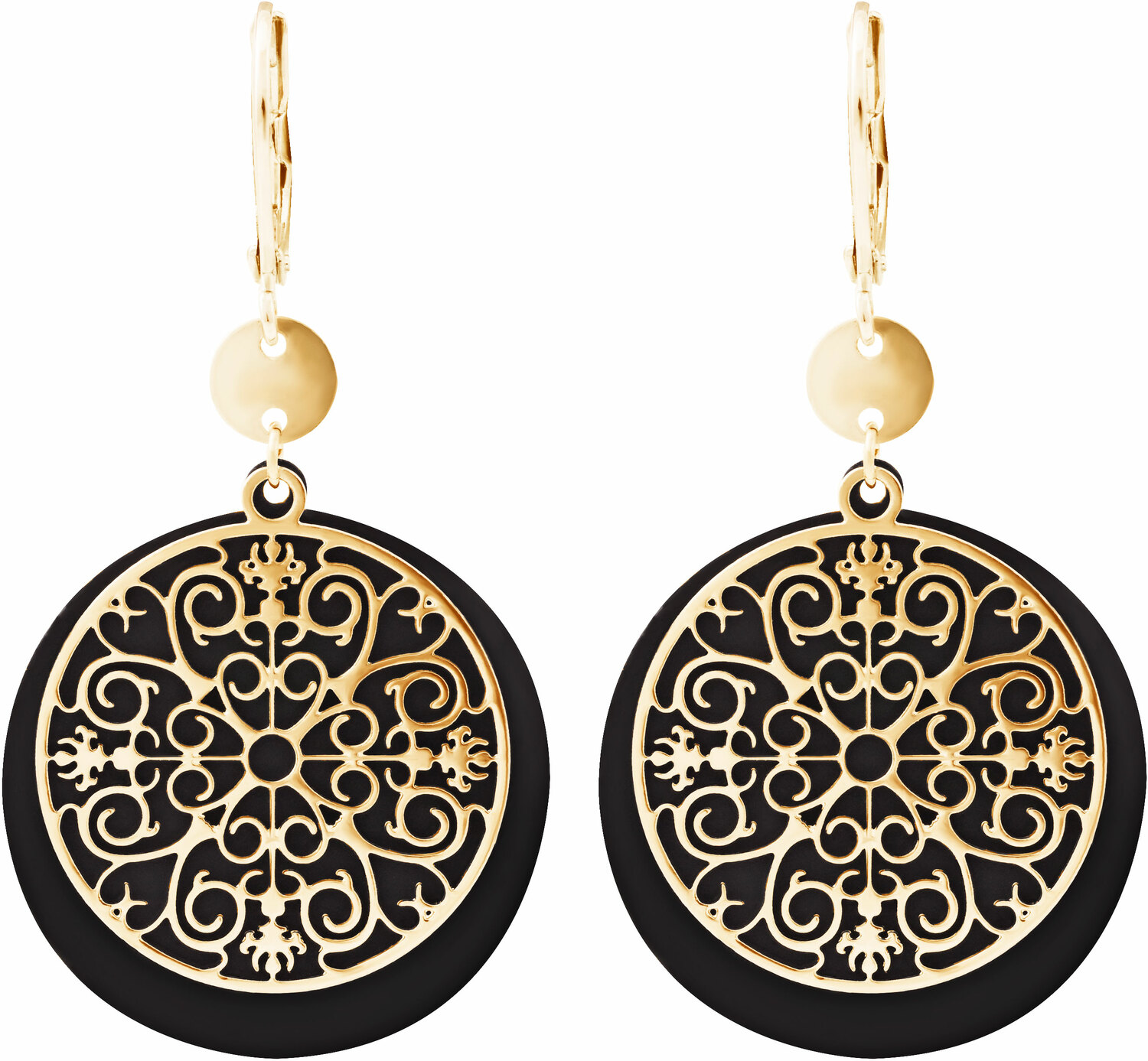 Gold Allure by H2Z Filigree Jewelry - Gold Allure - Filigree Dangle Earring