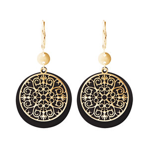 Gold Allure by H2Z Filigree Jewelry - Filigree Dangle Earring