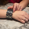 Silver & Navy by H2Z Filigree Jewelry - Model