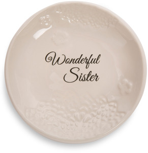 "Sister by Light Your Way Every Day - 5"" Ceramic Plate"