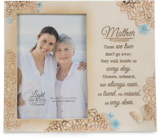 "Mother  by Light Your Way Memorial - 8"" x 7"" Frame (Holds 4x6 Photo)"