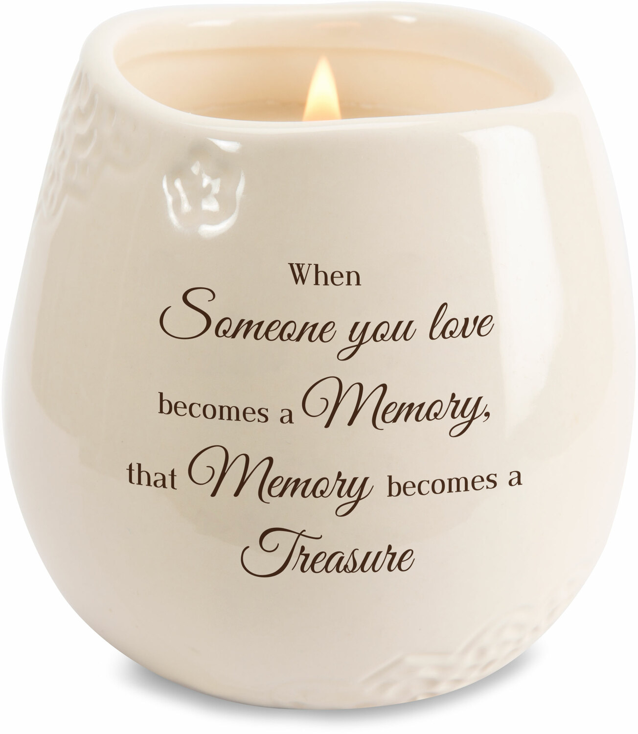 Memory by Light Your Way Memorial - Memory - 8 oz - 100% Soy Wax Candle Scent: Tranquility