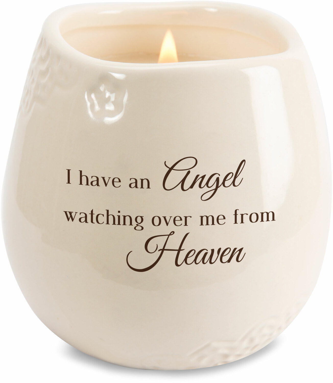 Heaven by Light Your Way Memorial - Heaven - 8 oz - 100% Soy Wax Candle Scent: Tranquility