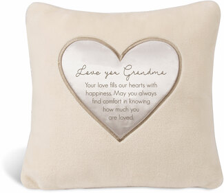 "Grandma by Comfort Blanket - 16"" Royal Plush Pillow"