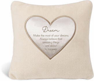 "Dream by Comfort Blanket - 16"" Royal Plush Pillow"