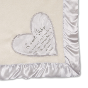 "Sweet Baby by Comfort Blanket - 30"" x 40"" Royal Plush Blanket"