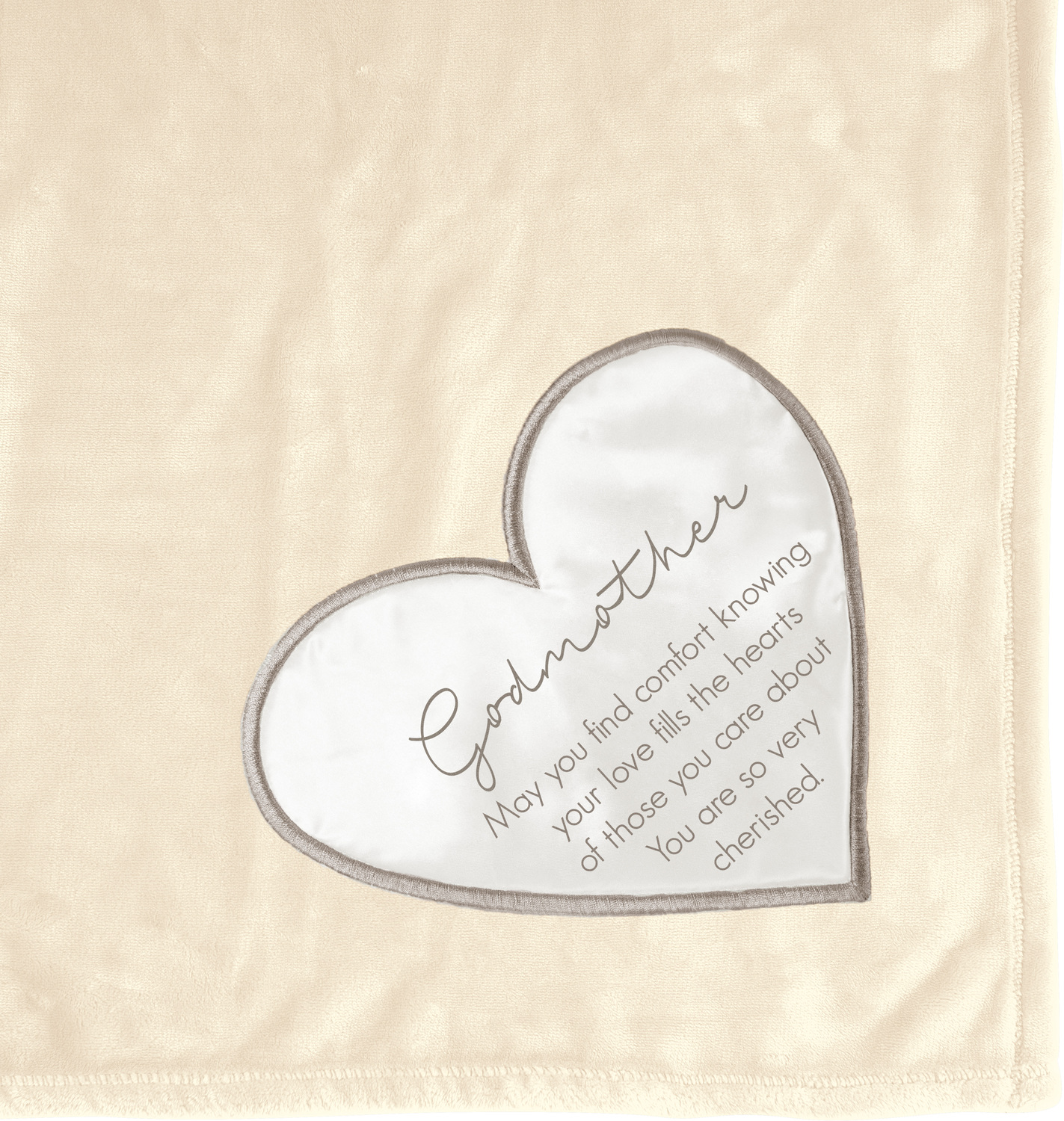 "Godmother by Comfort Blanket - Godmother - 50"" x 60"" Royal Plush Blanket"