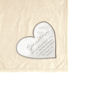 "Godmother by Comfort Blanket - 50"" x 60"" Royal Plush Blanket"