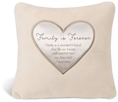 "Family by Comfort Blanket - 16"" Royal Plush Pillow"