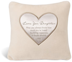 "Daughter by Comfort Blanket - 16"" Royal Plush Pillow"