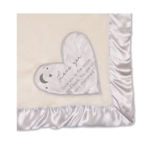 "Love You to the Moon by Comfort Blanket - 30""x40"" Royal Plush Blanket"
