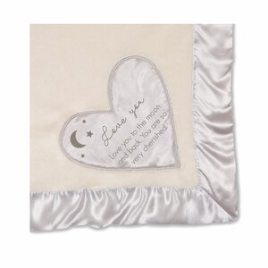 "Love You to the Moon by Comfort Blanket - 30"" x 40"" Royal Plush Blanket"