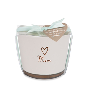 Mom by Comfort Collection - 8 oz - 100% Soy Wax Candle Scent: Tranquility
