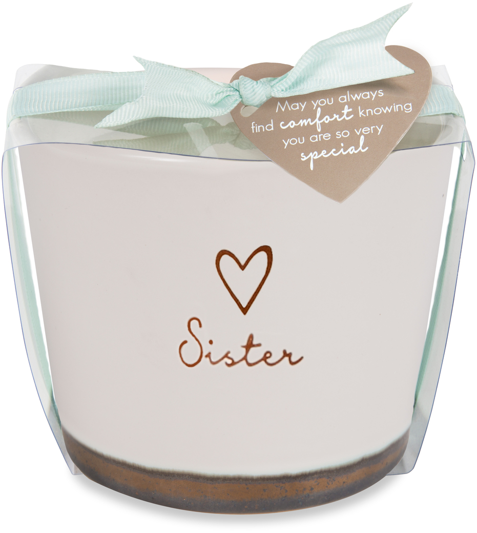 Sister by Comfort Collection - Sister - 8 oz - 100% Soy Wax Candle Scent: Tranquility