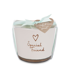 Special Friend by Comfort Collection - 8 oz - 100% Soy Wax Candle Scent: Tranquility