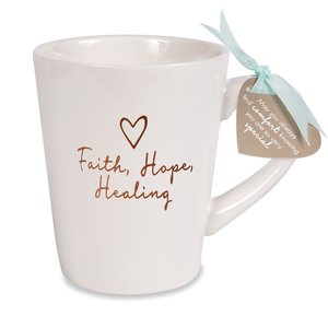 Faith Hope Healing by Comfort Collection - 15 oz Cup