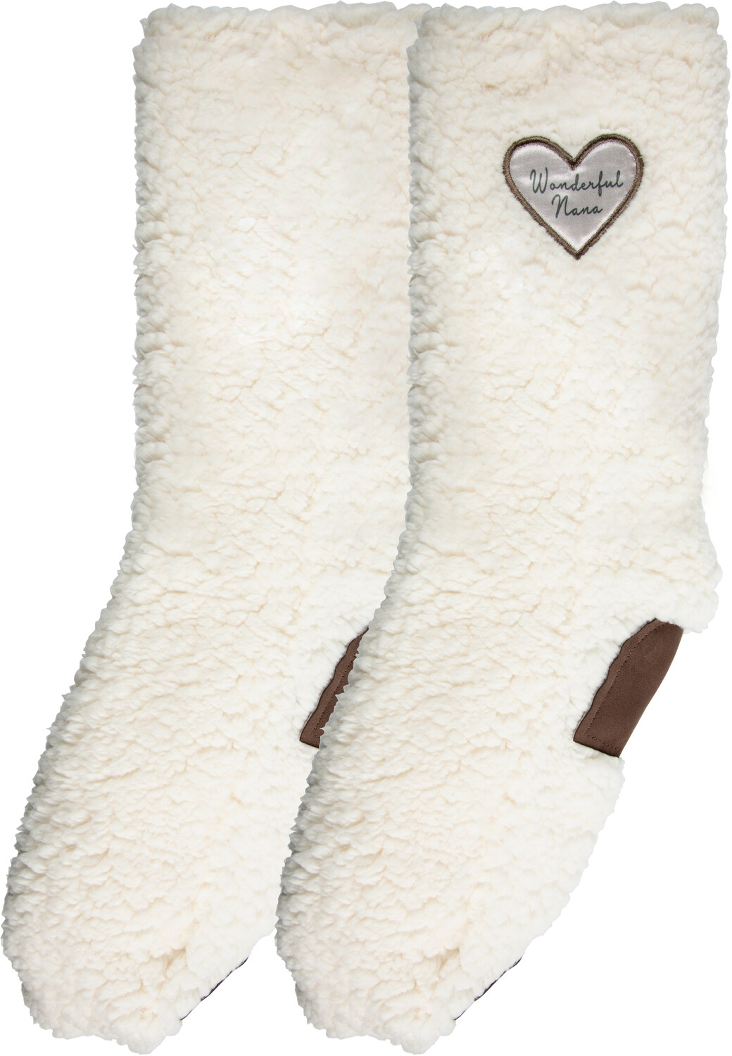 Wonderful Nana by Comfort Collection - Wonderful Nana - One Size Fits Most Sherpa Slipper
