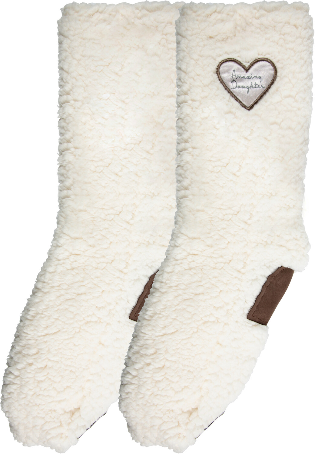 Amazing Daughter by Comfort Collection - Amazing Daughter - One Size Fits Most Sherpa Slipper