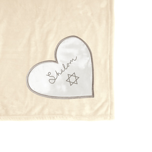 "Shalom by Comfort Blanket - 50"" x 60"" Royal Plush Blanket"