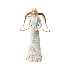 "Prayers by Comfort Collection - 7.5"" Angel Holding a Dove"