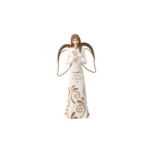 "Daughter by Comfort Collection - 5.5"" Angel Holding a Flower"