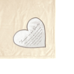 "Forever in our Hearts by Comfort Blanket - 50"" x 60"" Royal Plush Blanket"