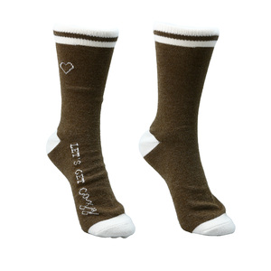 Cozy by Comfort Collection - Ladies Crew Sock